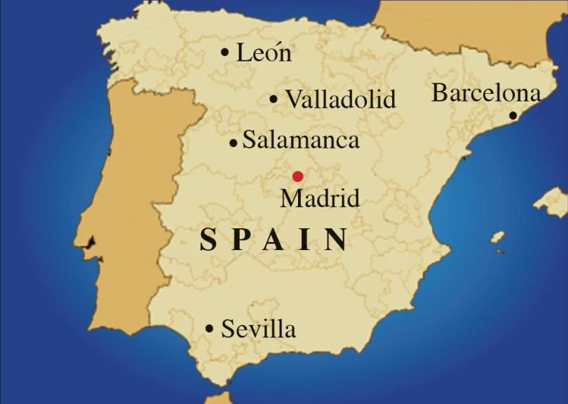موقع اسبانيا