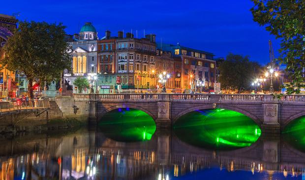 دبلن فى أيرلندا