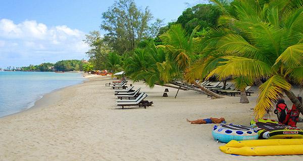 شواطئ Sihanoukville