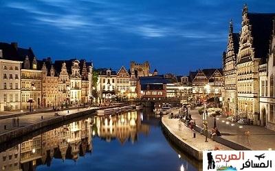 السياحة في غنت بلجيكا