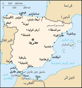 موقع مدريد
