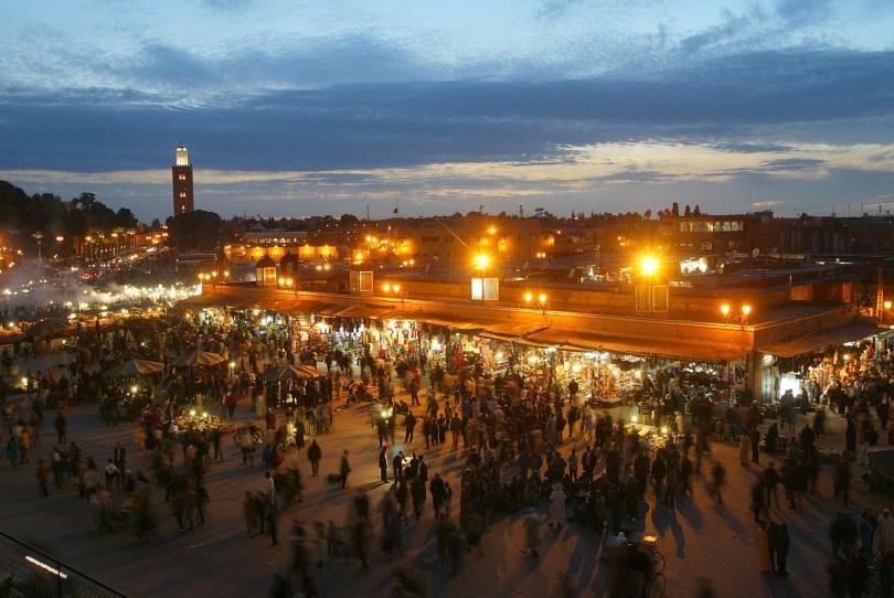 ساحة الفنا فى مراكش