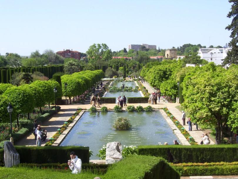 حدائق Alcázar