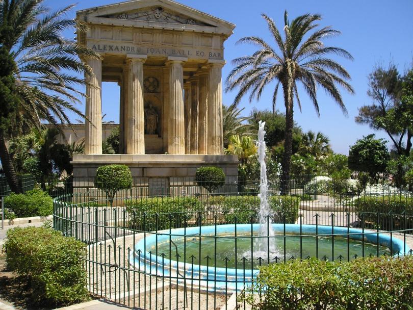 Upper and Lower Barrakka Gardens