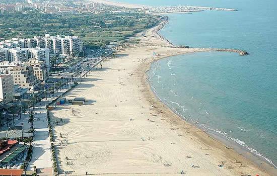شاطئ Playa de la Malvarrosa