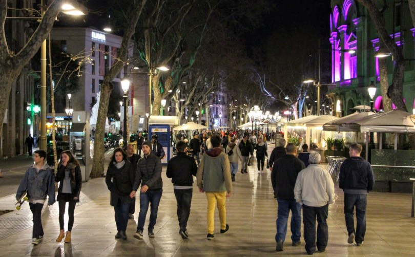ليلة فى برشلونة