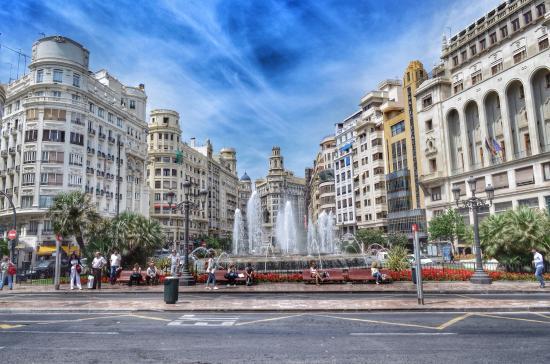 Modernisme Plaza of the City