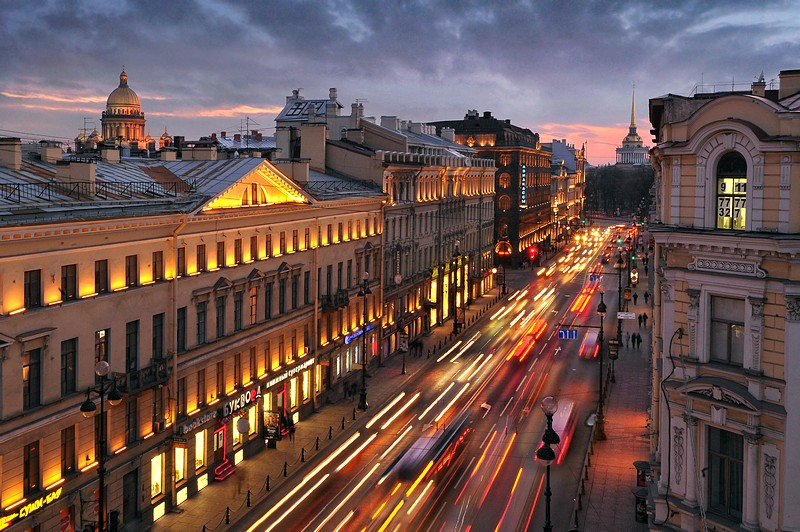 طريق Nevsky Prospect