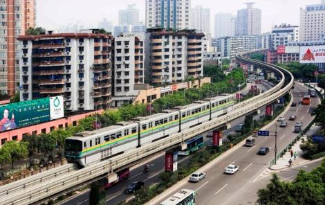 قطار الصين
