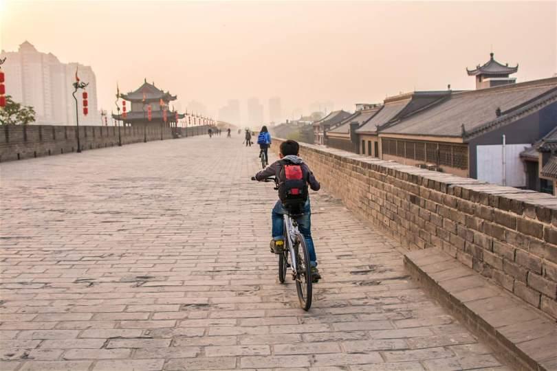 اسوار مدينة شيان