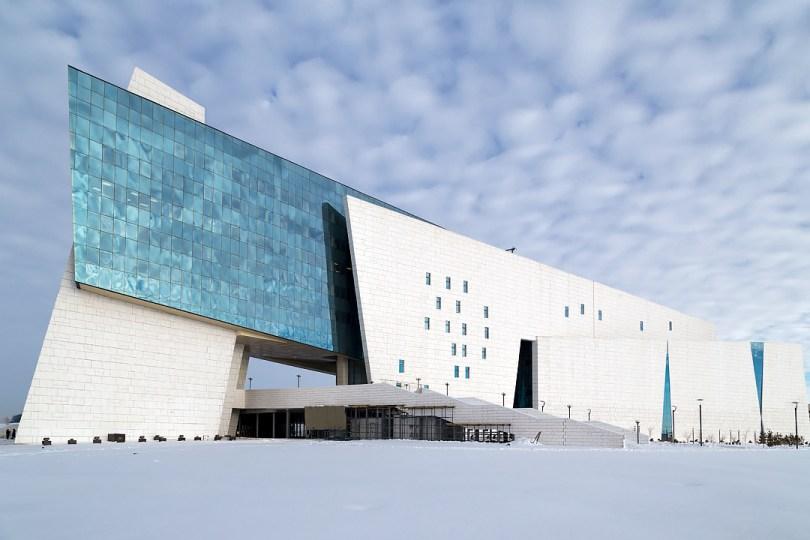 المتحف الوطنى فى كازاخستان