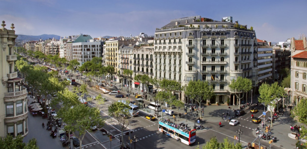 التسوق في برشلونة