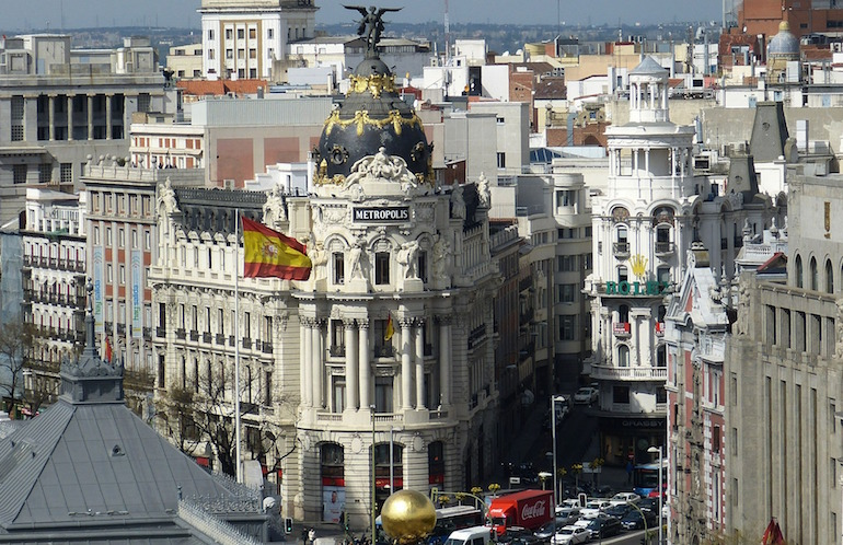 مدن إسبانيا
