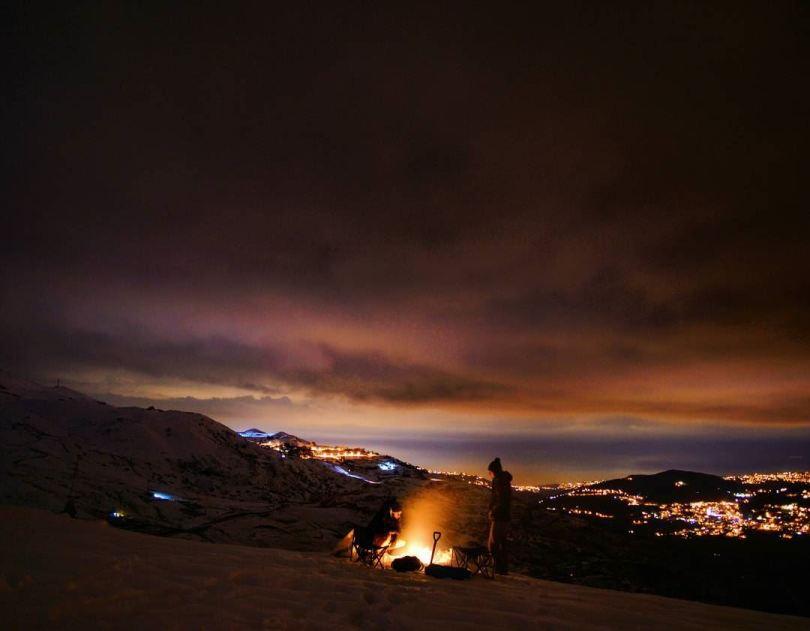لبنان في الشتاء