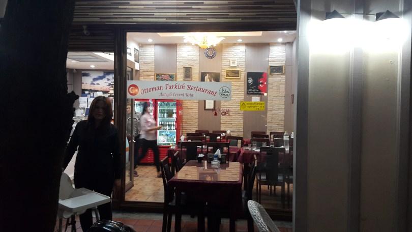 المطاعم في بانكوك