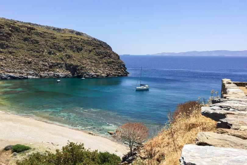Trip to the island of Kia Greece