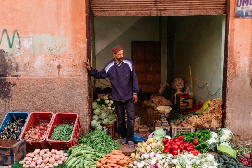 أسواق مراكش
