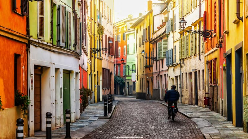 مدن في إيطاليا
