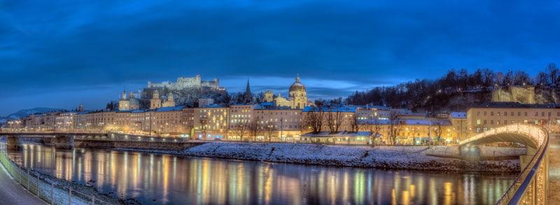 سالزبورغ في الشتاء