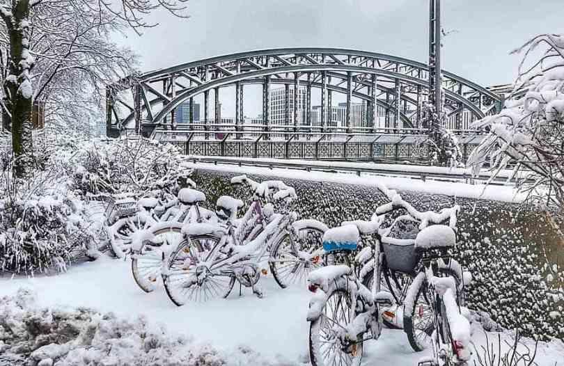 ميونخ في فصل الشتاء