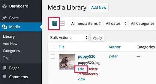 1 – إضافة WP Media Tagger إضافات الووردبريس للمواقع الفوتوغرافية