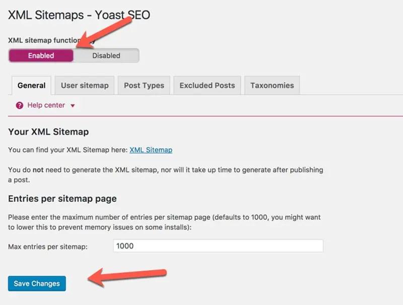 2 2 – قابلية استعمال XML Sitemaps