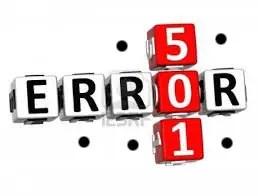 3 – الخطأ 501