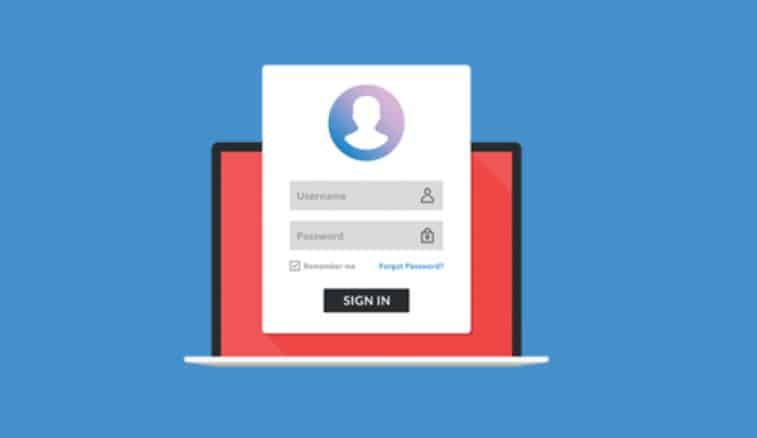 login page wordpress