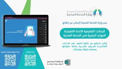 Photo of الخدمة المدنية تطلق الرحلات التعليمية التفاعلية للائحة الموارد البشرية