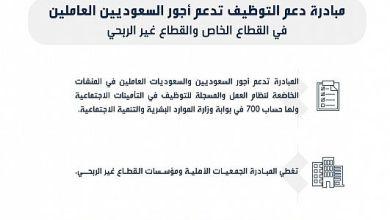 Photo of هدف: مبادرة دعم التوظيف تدعم أجور السعوديين في القطاعين الخاص و غير الربحي