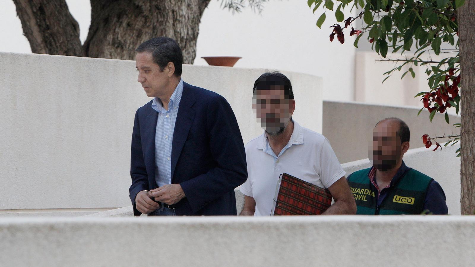Un any després de la detenció d'Eduardo Zaplana, la justícia ja ha recuperat 11 milions d'euros