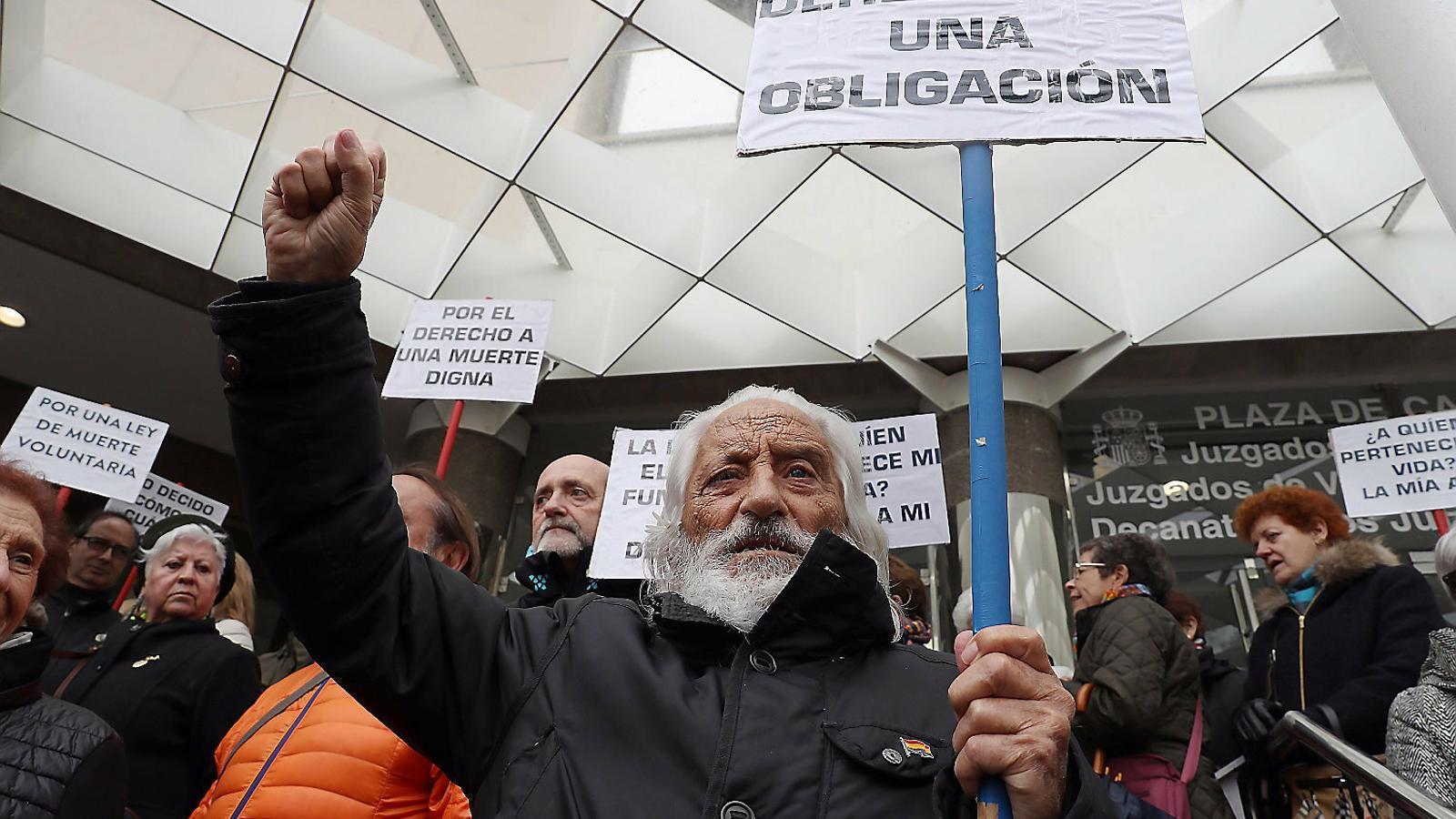 El cas d'eutanàsia que divideix els francesos arriba a la setmana decisiva