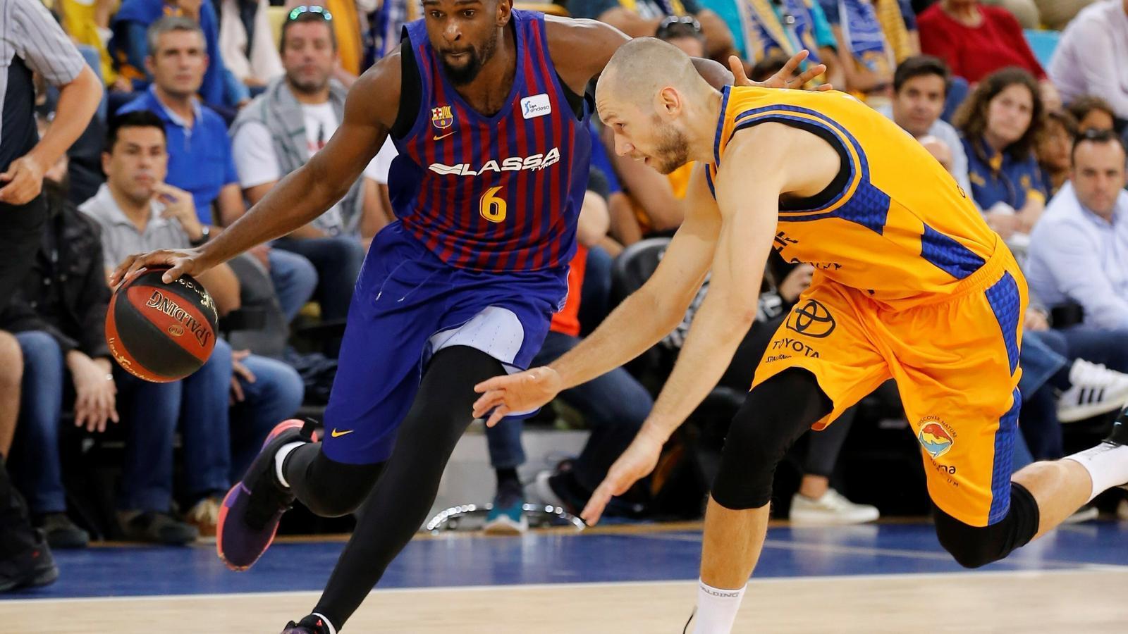El Barça Lassa recupera el camí del triomf amb solvència (77-97)