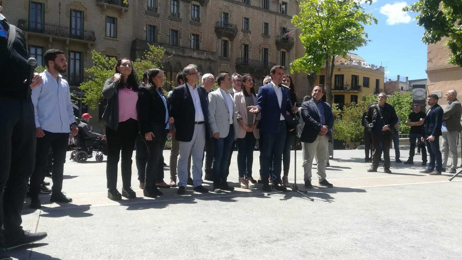 Rivera rememora la tardor de 2017 en el seu primer acte de campanya a Catalunya
