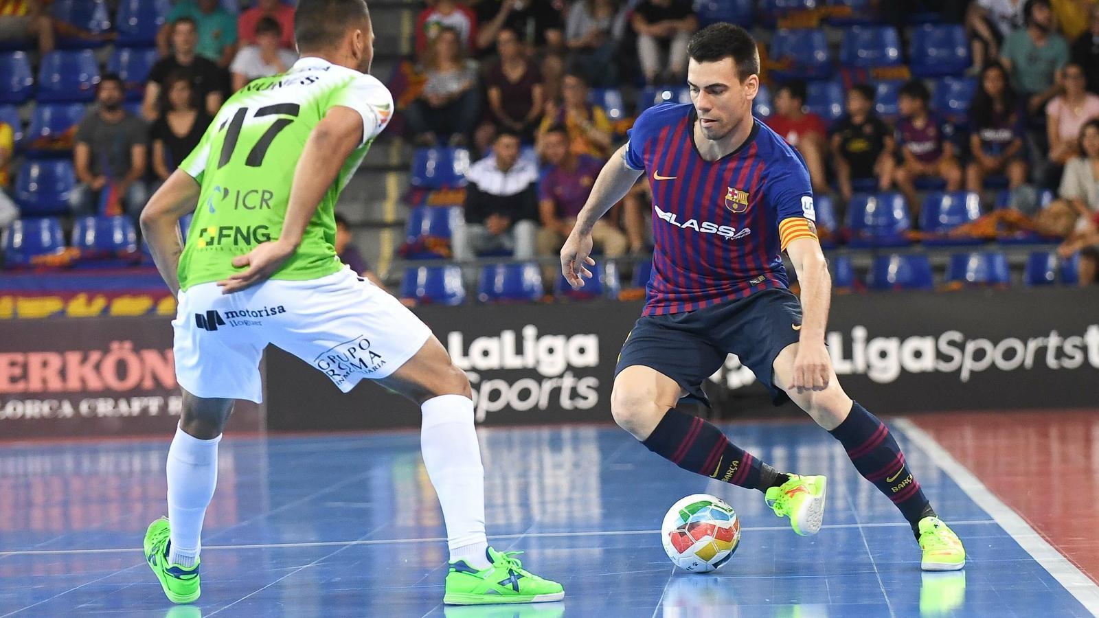 El Barça Lassa s'encomana als penals per superar al Palma Futsal