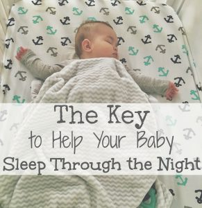 What is the earliest baby can sleeping through night