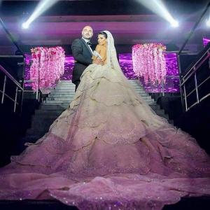 بالصور| فساتين زفاف مزيج من البهجة والرقي