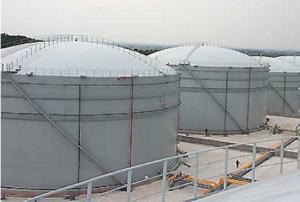 Dome Roof Storage Tanks