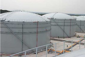 Dome Roof Storage Tanks
