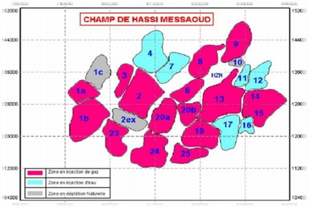 Hassi Messaoud Field Zones[4]