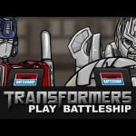 Transformers Play Battleship