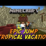 Minecraft Epic Jump Tropical Vacation Part 2 – كوكو ؟ 2
