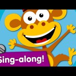 Five Little Monkeys Sing-along | Kids Songs | #readalong with Super Simple Songs