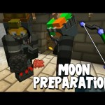Minecraft – Mission To Mars – Moon Preparations! [11]
