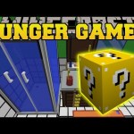 Minecraft: THE DROPPER BATHROOM HUNGER GAMES – Lucky Block Mod – Modded Mini-Game