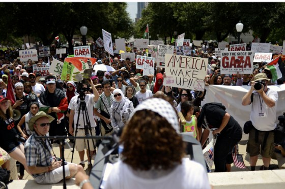protest at texas state capitol