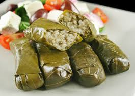 Waraq Inab - Stuffed Grape Leaves