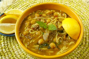 Shawraba - Lamb Stew with Chickpeas