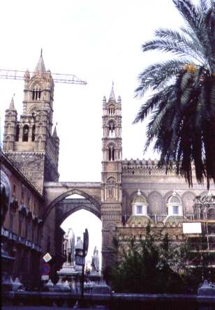 Sicily-Palermo-Cathedral-Former Mosque