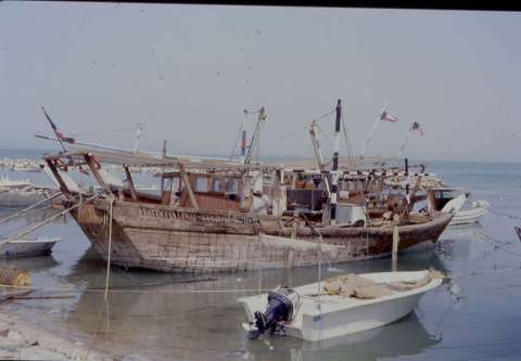 Arab Navigation-Kuwait-Dhow Docked #